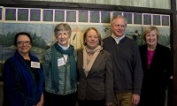 Rep. Tsongas and others at Wild and Scenic press event  - photo by Carolyn Perkins