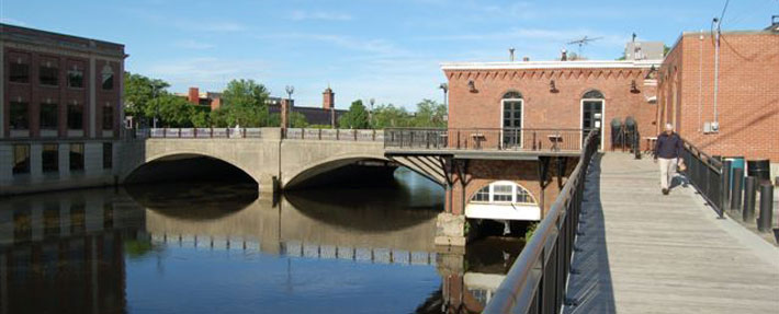 Riverwalk in Nashua, NH – Photo by Mark Archambault