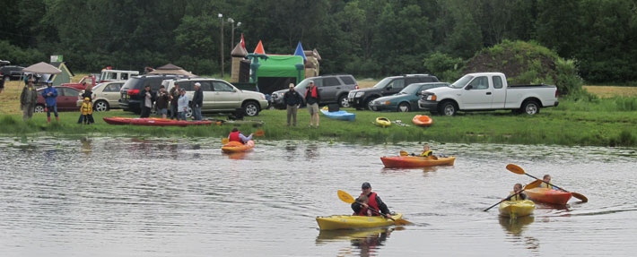 Lancaster Friends of the Nashua River's first River Festival – Photo by Bill Flynn