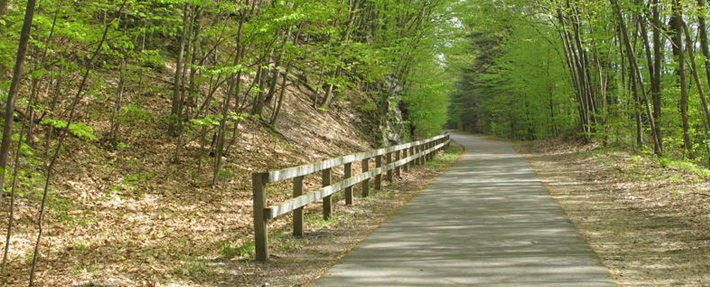 The Nashua River Rail Trail - Photo by Joel Moses