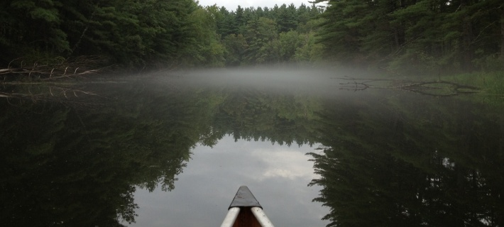 Early evening on the Nashua River - photo by Cedwyn Morgan
