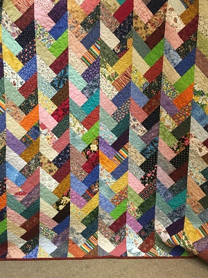 Friendship Braid Quilt to be raffled