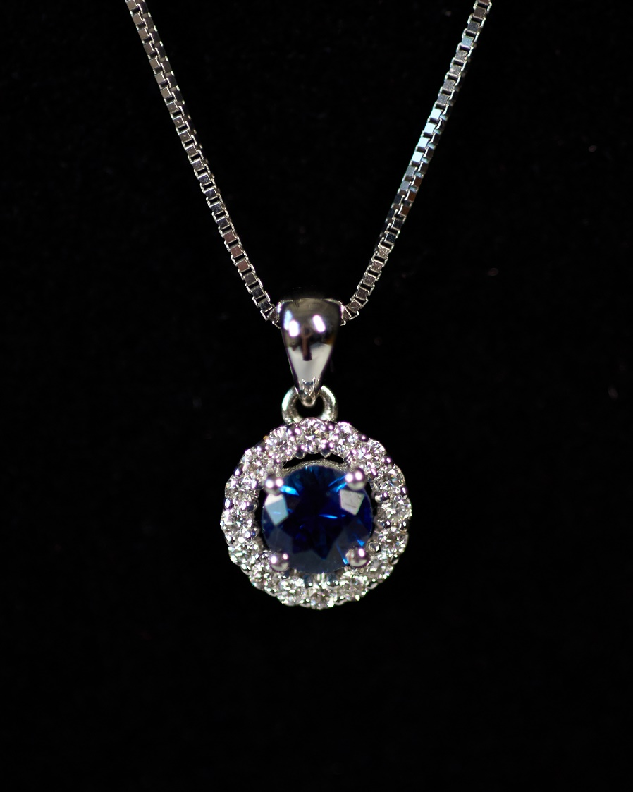 2 Sapphire Necklace