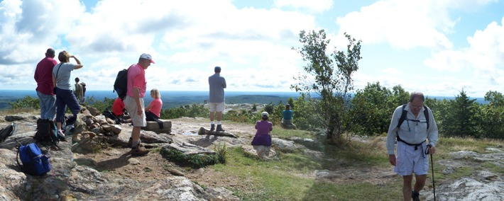 Hiking Mt. Watatic with views of the Nashua River watershed - Photo by Al Futterman