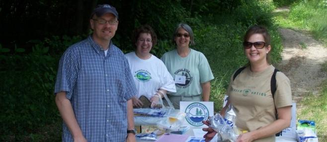 NRWA and Clinton Greenway Conservation Trust coordinate clean-up on the South Nashua River