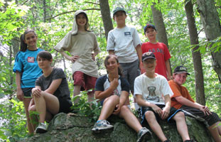 "Participants in NRWA's ""Adventure Week"" – Photo by Nancy Ohringer"