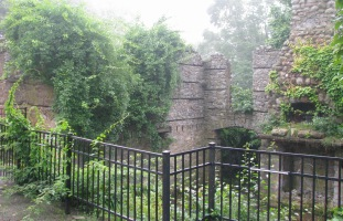 "The ""castle"" ruins on Gibbet Hill in Groton, MA - Photo by Nancy Ohringer"